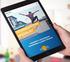 Zentraler Immobilienausschuss Website Gestalte unsere Zukunft: Tablet